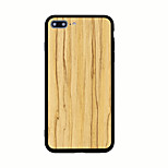 For Pattern Case Back Cover Case Wood Grain Hard Acrylic for iPhone 7 Plus 7 6s Plus 6 Plus 6s 6 5s 5 SE