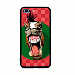 For Pattern Case Back Cover Case Animal Hard Acrylic for iPhone 7 Plus 7 6s Plus 6 Plus 6s 6 5s 5 SE