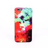 Für Mattiert Geprägt Muster Hülle Rückseitenabdeckung Hülle Farbverläufe Hart PC für AppleiPhone 7 plus iPhone 7 iPhone 6s Plus iPhone 6
