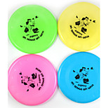 Cat Toy Dog Toy Pet Toys Interactive Flying Disc Durable Cartoon Cat Dog Halloween Plastic