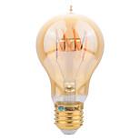 4W E27 Ampoules à Filament LED A60(A19) SMD 400 lm Blanc Chaud Décorative AC 100-240 V 1 pièce
