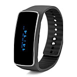 Bracelet intelligent bracelet intelligent mode podomètre tracker sommeil thermomètre de fitness Tracker bande intelligent pour android ios