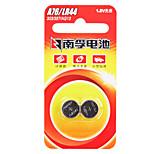 NANFU AG13 Coin Button Cell Alkaline Battery 1.5V 140mAh 2 Pack