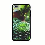 Per Fantasia/disegno Custodia Custodia posteriore Custodia Fiore decorativo Resistente Acrilico per AppleiPhone 7 Plus iPhone 7 iPhone 6s