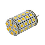 4W GY6.35 LED Bi-pin Lights 49 SMD 5050 300-330 lm Warm White Decorative AC/DC 12 V 1 pcs