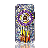 For iPhone 7 Plus 7 Case Cover Retro Ethnic Style 3D Embossed Bead Jewlery Tassel Case Beads Pendant Patterned 6s Plus 6 Plus 6 6s