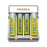 Pkcell 8174 AAA AA Nickel Cadmium Battery 1.2V 900mAh 5 Pack