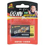 Shuanglu LR20 d alcalina de la batería de 1,5 V 1 paquete