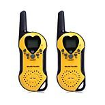 t5 2pcs 22 canali UHF walkie-talkie con schermo LCD