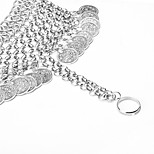 Women's Anklet/Bracelet Alloy Fashion Bohemian Button Silver Women's Jewelry Party Daily Casual 1pc
