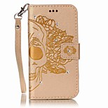 For iPhone 7 7 Plus Card Holder Wallet Rhinestone Flip Embossed Case Full Body Case Skull Hard PU Leather for iPhone 7 7 Plus 6 6 Plus 5 5S SE