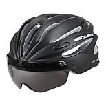 Sports Men's Bike Helmet 17 Vents Cycling Cycling Mountain Cycling Road Cycling PC EPS Red Gray Black Light Green Orange
