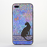 Per Fantasia/disegno Custodia Custodia posteriore Custodia Gatto Morbido Silicone per AppleiPhone 7 Plus iPhone 7 iPhone 6s Plus iPhone 6