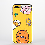 For Apple iPhone 7 Plus Case Back Cover Case Soft Silicone Cartoon Pattern for Apple iPhone 7 iPhone 6s Plus/6 Plus iPhone 6s/6
