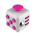 Toys Smooth Speed Cube Novelty Stress Relievers Magic Cube Red Gray / Plastic