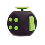 Smooth Speed Cube Stress Relievers Magic Cube Black Green Plastic