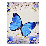 For Apple iPad 4 3 2 Case Cover with Stand Pattern Full Body Butterfly Hard PU Leather