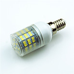 3W E14 G9 GU10 E12 E27 Luces LED de Doble Pin T 60 SMD 2835 400 lm Blanco Cálido Blanco Fresco Decorativa AC220 V 1 pieza