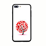 For Pattern Case Back Cover Case Heart Hard Acrylic for iPhone 7 Plus7 6s Plus 6 Plus 6s 6 5s 5 SE
