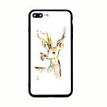 Per Fantasia/disegno Custodia Custodia posteriore Custodia Con animale Resistente Acrilico per AppleiPhone 7 Plus iPhone 7 iPhone 6s Plus