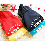Dog Coat Dog Clothes Winter Letter & Number Casual/Daily Sports