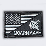 Patch Badge Military Sparta Super Heroes Soldier/Warrior Assassin Festival/Holiday Halloween Costumes  Badge Halloween Carnival Unisex Polyester