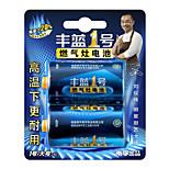 Fenglan R20P d carbono bateria zinco 1.5v 2 unidades