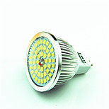4.5W GU5.3(MR16) LED Spotlight MR16 48 SMD 2835 400 lm Warm White Cool White Decorative AC 12 V 1 pcs