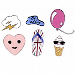 Brooches Others Alloy Multi Color Basic Design Jewelry Daily