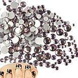 500-600pcs/bag Manucure Dé oration strass Perles Maquillage cosmétique Nail Art Design