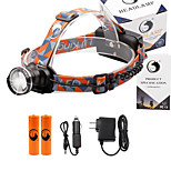 U'King® ZQ-X830B#1-EU CREE XML-T6 LED 2000LM Zoomable 180 Rotate 3Modes Headlamp Bike Light Kits with Rear Safety LED