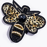 Brooches Bowknot Alloy Black Animal Design Jewelry Daily