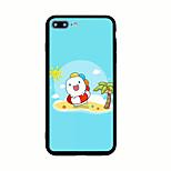 Para Diseños Funda Cubierta Trasera Funda Dibujos Dura Acrílico para AppleiPhone 7 Plus iPhone 7 iPhone 6s Plus iPhone 6 Plus iPhone 6s