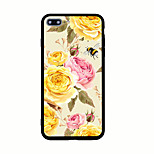 For Pattern Case Back Cover Case Flower Hard Acrylic for iPhone 7 Plus 7 6s Plus 6 Plus  6s 6 5s 5 SE