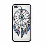 For Pattern Case Back Cover Case Feathers Hard Acrylic for iPhone 7 Plus 7  6s Plus  6 Plus  6s  6 5s 5 SE