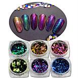 1pcs Chiodo decorazione di arte strass Perle Cosmetici e trucchi Fantasie design per manicure