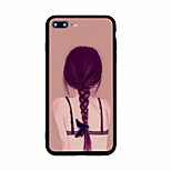 Für Muster Hülle Rückseitenabdeckung Hülle Sexy Lady Hart Acryl für AppleiPhone 7 plus iPhone 7 iPhone 6s Plus iPhone 6 Plus iPhone 6s