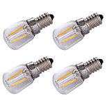 YouOKLight 4PCS E14 1.5W AC 220V 100Lm Warm White 3000K LED Filament Bulb