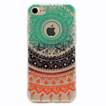 For Lace Flowers Pattern Soft TPU Material Phone Case for iPhone 7 Plus 7