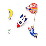Women's Brooches Alloy Basic Fashion Star Jewelry Assorted Color Jewelry Daily