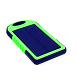 5000mAhpower bank external battery Solar Charge / Flashlight / Super Slim 5000 1000 Solar Charge / Flashlight / Super Slim
