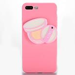 Pour Miroir A Faire Soi-Même Coque Coque Arrière Coque Femme Sexy Flexible PUT pour AppleiPhone 7 Plus iPhone 7 iPhone 6s Plus iPhone 6