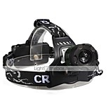 U'King® ZQ-X829G Three Head CREE T6 2000LM 3Modes Headlamp Flashlight with Safety Tail LED