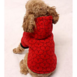 Dog Coa Dog Clothes Spring/Fall Solid Casual/Daily