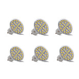3W GU10 Decoration Light 29 SMD 5050 200-300 lm Warm White Cool White Decorative AC 220-240V 6 pcs
