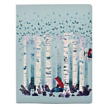 For Apple iPad 4 3 2 Case Cover with Stand Pattern Full Body Tree Hard PU Leather