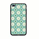 Para Diseños Funda Cubierta Trasera Funda Diseño Geométrico Dura Acrílico para AppleiPhone 7 Plus iPhone 7 iPhone 6s Plus iPhone 6 Plus
