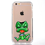 For iPhone 7 Cartoon TPU Soft Ultra-thin Back Cover Case Cover For Apple iPhone 7 PLUS  6s 6 Plus SE 5s 5 5C