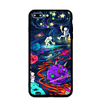 For Pattern Case Back Cover Case Cartoon Hard Acrylic for  iPhone 7 Plus  7  6s Plus  6s  SE 5s 5