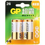 gp gp14au-2il2 c alikaline batería 1.5v 2 pack